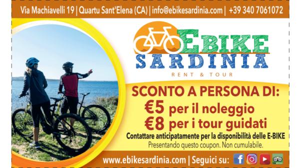 coupon sconto per noleggio e-bike in sardegna