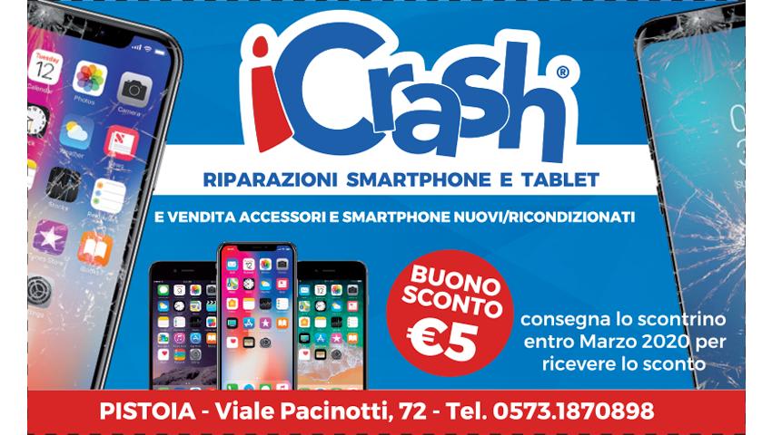 BUONO SCONTO 5€ – iCRASH