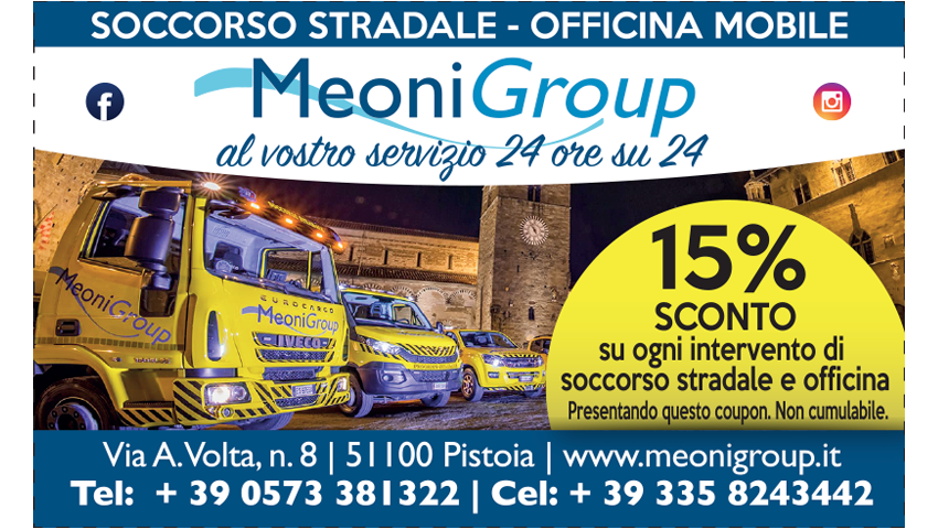 15% di Sconto – MEONI GROUP