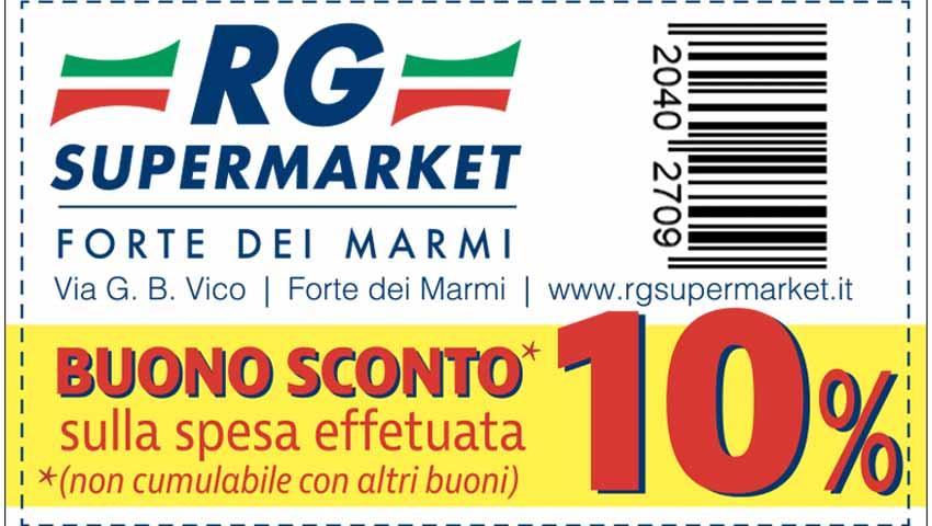 Buono Sconto del 10% sulla Spesa nel Supermercato