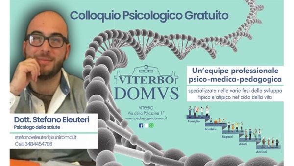 Dott. Stefano Eleuteri Psicologo della salute